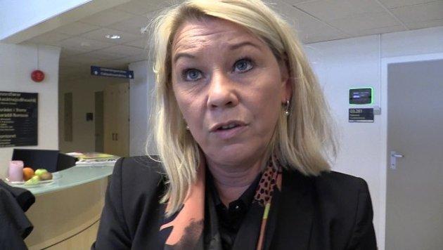 Det kan ende med at kommunalminister Monica Mæland (H) må avgjøre milliardkrangelen mellom Hordaland og Sogn og Fjordane. Foto: Rune N. Andreassen / NRK