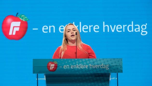 SVARER: Christine Elise Hartvigsen (Fpu) svare på Øivind Tolfens innlegg i Fredriksstad Blad, hvor han stiller spørsmål om hvorvidt Fremskrittspartiet er et konservativt parti.