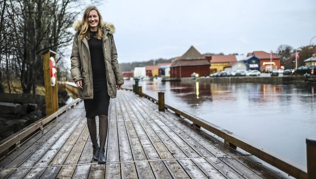Ingeborg Marie Østby Laukvik er daglig leder i Halden Næringsutvikling.