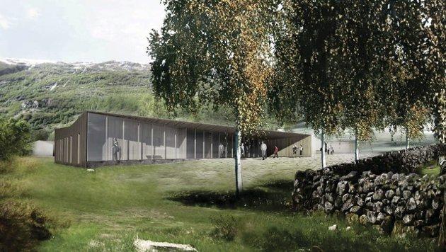 Pilegrimssenter: «Spørsmålet mitt er no, kva er det som vil skje med pilegrimssenteret i Røldal dei neste 10 åra?», skriv Ragnvald Christenson frå Edland. Illustrasjon: Lund+Slaatto Arkitekter AS