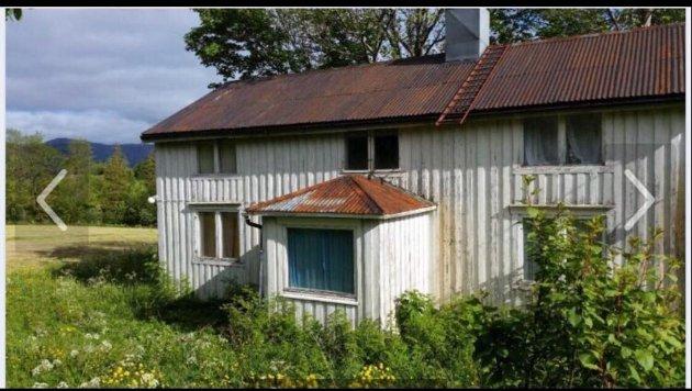 RØNNE: Tømmerhuset hadde stått tomt i 20-30 år da Kari og Jostein vie kjøpt eiendommen for 300.000 kroner i 2016. De har brukt de fem siste årene på å totalrenovere huset på Jamtneset i Alstahaug. Adressen er Tjøttaveien 339.
