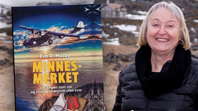 Hasvik-ordfører Eva Danielsen Husby har gitt ut flere bøker, den siste rett før årsskiftet med tittel «MINNESMERKET - om krigen som var og mange spørsmål uten svar».