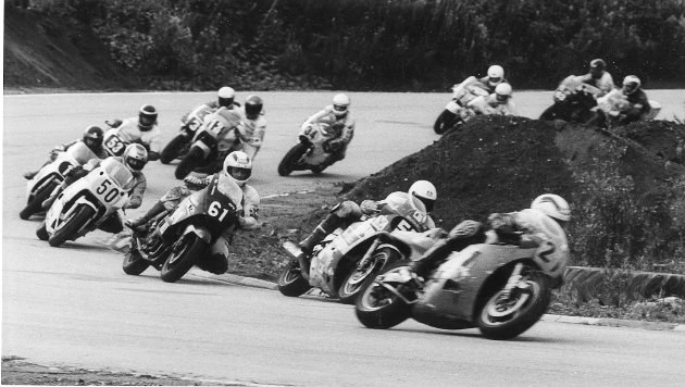 Roadracing, Røssvoll Motorstadion. 25. august 1988.