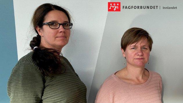 Helene H. Skeibrok og Karianne Sten Solheim