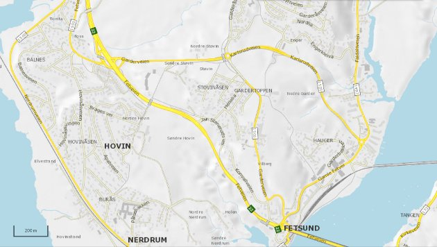 NYTT NAVN: Fylkesvei i Fetsund