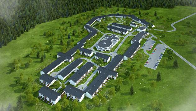 LUKKET: Demenslandsbyen som Kjetil Holteberg og Rajeev Lehar foreslår bygget i Ås vil i realiteten føre til at eldre med demens blir låst inne, skriver Helga Lunnan-Steidl.