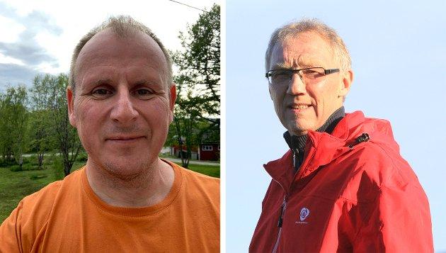 Geir Ove Bakken gruppeleder AP fylkestingsgruppe Troms Finnmark  Bjørn Johansen fraksjonsleder AP næringskomiteen Troms Finnmark