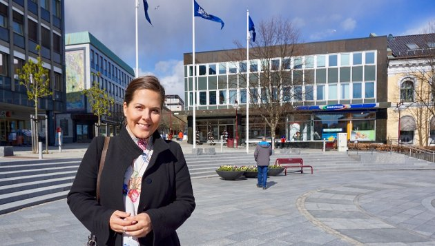 SKRIVER OM ALKOHOLPOLITIKK: Lene Westgaard-Halle (H).