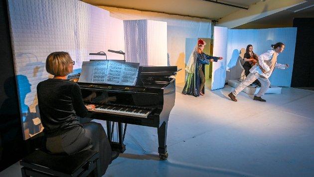 Peer Gynt er jeg! En samproduksjon mellom Rana Kulturskole, KammeRana og Nordland Teater.