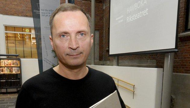 Morten A.  Strøksnes, journalist og forfatter, Lillehammer