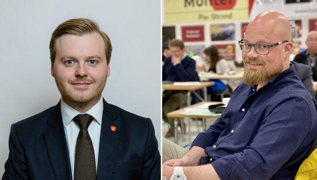 Kristian Eilertsen og Eivind Stene i Frp i Harstad mener at det er på tide å prøve noe nytt for å få kontroll på kostnadene innen helse og sosial i kommunen.