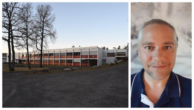 HAR SIGNERT: Sande videregående-rektor Jan Fredrik Vogt er blant dem som har signert oppropet til støtte for å avholde eksamen også i år.