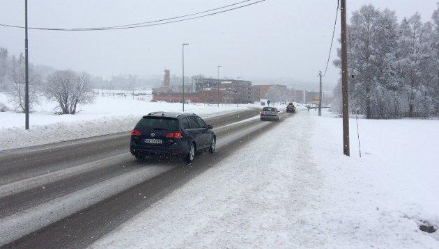 BØR FÅ MOTORVEI: Motorvei gjennom Nittedal er middelet for å verne Nordmarka og dempe trafikk tett på dagens bebyggelse på Mo, mener artikkelforfatteren.