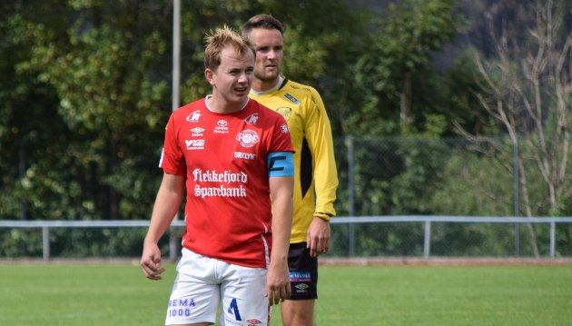 SOLID: Asle Liland har levert varene i kamp etter kamp for Flekkefjord også denne sesongen. Han scoret tre mål i serieavslutningen mot Hægebostad i helgen.