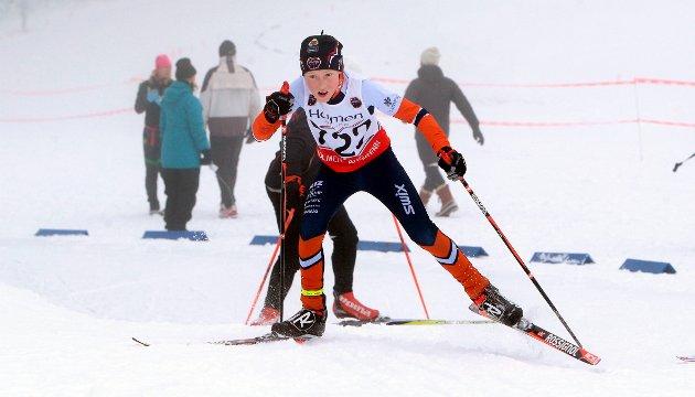 Med nesten 600 ivrige langrennsløpere fra 8 til 16 år, var det fullt liv på Eidjordet søndag da Holmen IF arrangerte BLIZ-rennet for første gang.