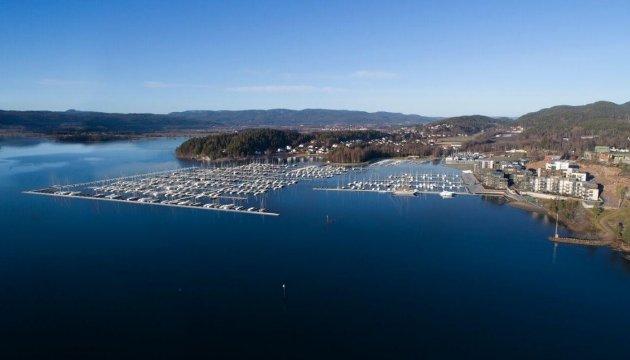 UTVIDELSE: Det er planlagt en utvidelse av båthavna ved Nordre Jarlsberg Brygge.