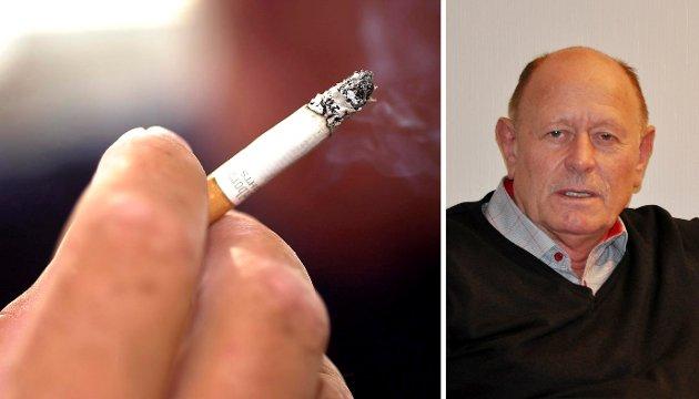 MOT RØYKING: Jan Akerholt har engasjert seg for å få et enda mer røykfritt bomiljø.