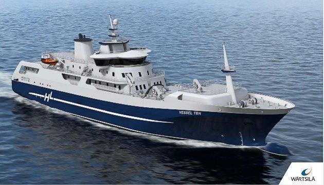 OMDISKUTERT: Slakteskipet Norwegian Gannet