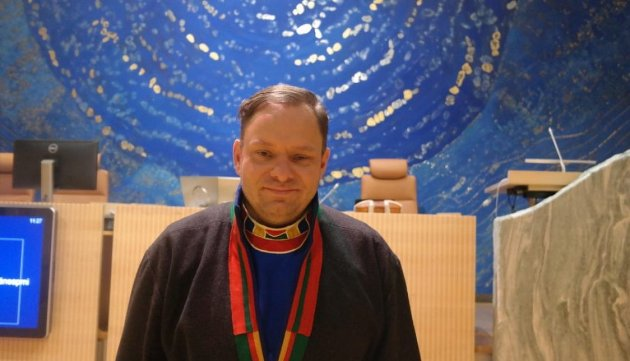 Vidar Andersen, politisk nestleder, Norske Samers Riksforbund