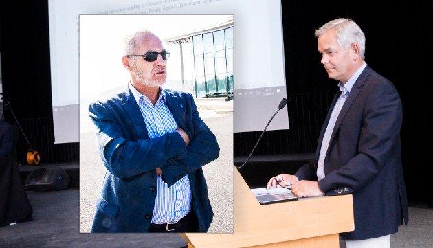 GJELDSUTVIKLINGEN: Erik A. Sørensen legger skylda på Arbeiderpartiet og ordfører Rune Høiseth for utviklingen i kommuneøkonomien.