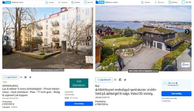 To boliger - samme pris. Hvorfor er ikke dette et enkelt valg?