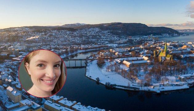 Jeg kom hit som en stakkars Oslo-dust og brukte flere måneder på å få inn i skolten at fjorden lå på nordsiden av byen, skriver Anne Sigrid Refsum i dette oppgjøret med Trondheims implisitte lokalkunnskap.