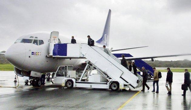 TRØBBEL: Hvilke rettigheter har du egentlig når noe går galt og du er flypassasjer? Arkivfoto:  Alf -Robert Sommerbakk