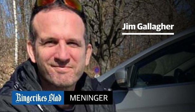 MANGE SPØRSMÅL: Vi trenger mange svar om byen og dens bruk, før vi skal konkludere om det er lurt med høyhus, mener Jim Gallagher.