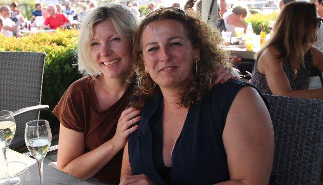 Stine Jensen og Jasmina Borkvic
