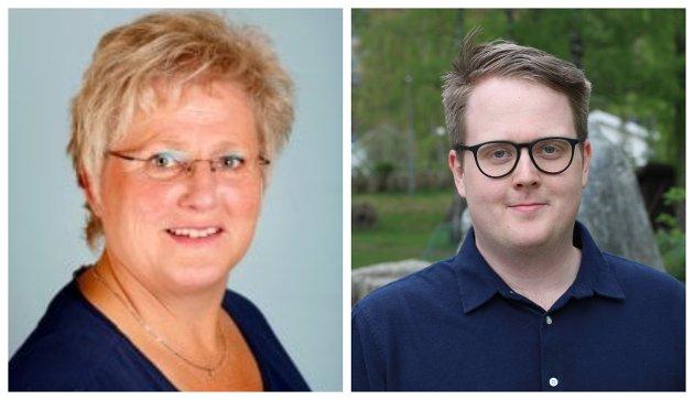 Brita Skallerud, og Magnus Weggesrud, Fylkestingsrepresentanter i Viken - Senterpartiet