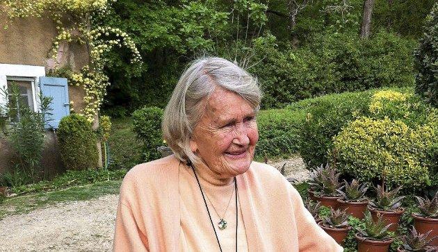 DØD: Dette bildet av Elsa Blin ble tatt av henne i 2015, altså som 90-åring. Foto: Elisabeth Stang, Oslo