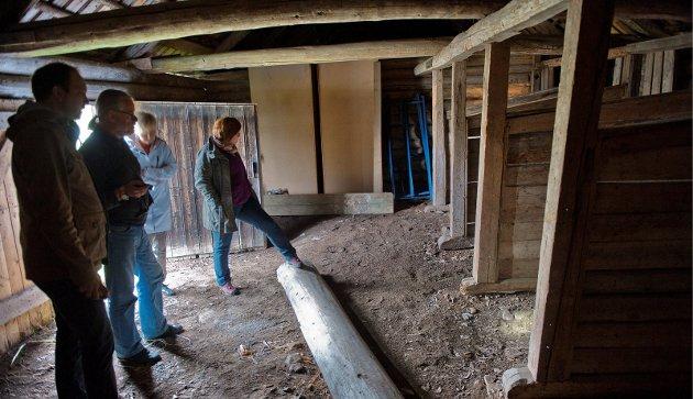 Kulturminne: Stallen ved Aas kyrkje i Vestre Toten.Illustrasjonsbilete