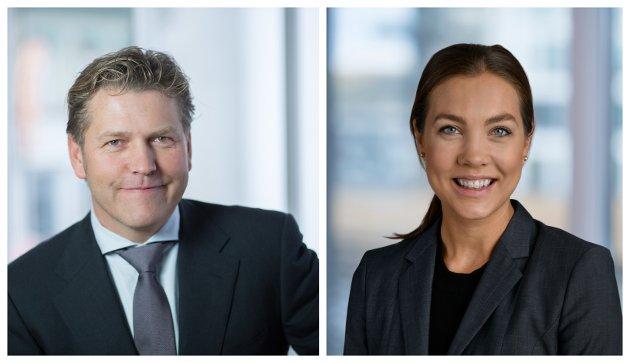 Pål S. Jensen og Jeanette S. Støen fra Zenit Advokater