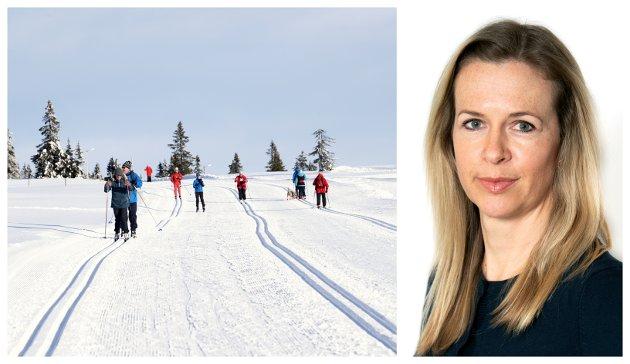USKREVNE REGLER: Det finnes noen uskrevne regler for når det er greit å si hei til folk på skitur. Ikke gi opp, da blir fjellet et kjøligere sted, skriver kommentator Kathrine Lunde Solbraa.
