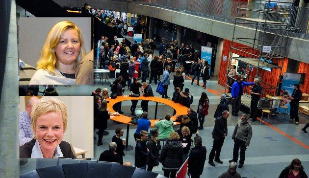 UNGDOM: Venstres Kari-Lise Rørvik og Magdalena Lindtvedt mener kommun ens ungdom bør bli mer hørt.
