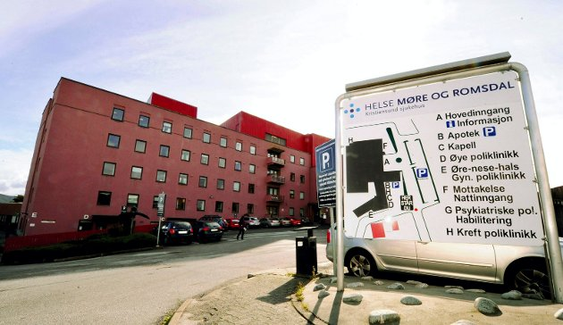 Kristiansund sjukehus.