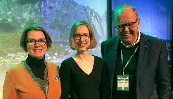 Vi løser ikke beredskapsbehovene våre gjennom å lage tollmurer og stenge oss ute fra internasjonale markeder, skriver Ragnhild Helseth og Islein Nybø – på bildet sammen med Pål Farstad.