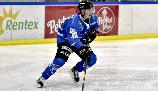 KLAR: Arttu Niskakangas er en av nøkkelspillerne på Narvik Ishockeyklubb som må levere skal det bi flere poeng i helgens  to utekamper mot Gjøvik