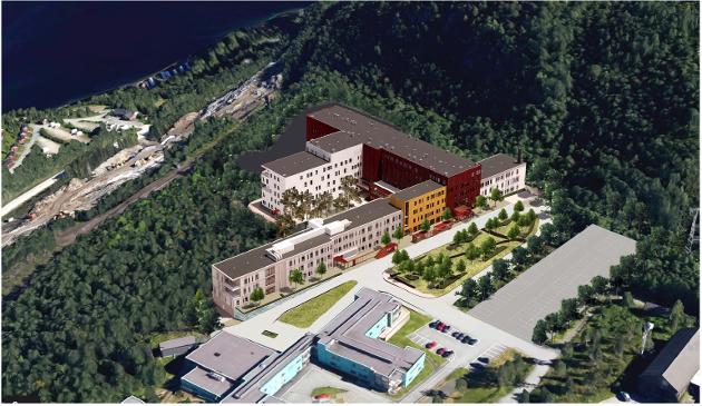 Nye Narvik sykehus.