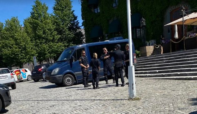 SIAN: Dersom mange møter på Stortorget og viser sin motstand, er det større fare for at demonstrasjonen utarter.