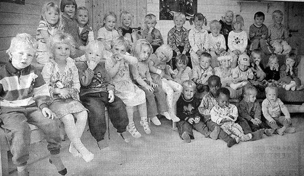 Bjørnhaugen barnehage feiret sine ti første år på Leknes. Barnehagen hadde plass til 42 barn fordelt på to avdelinger.