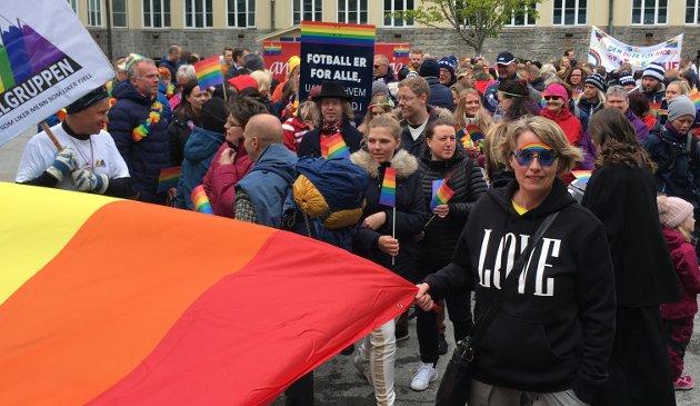 Paraden startet ved Allanengen skole