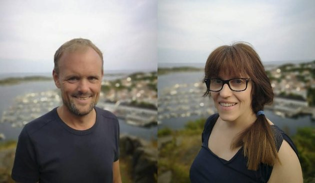 VENSTRE FOR SKOLE: Frode Ausland og Sara Sægrov Ruud sier de vil prioritere lærertetthet i risørskolen.Foto: arkiv