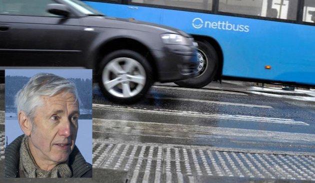 IKKE RETTFERDIG: Det man ønsker er jo å ramme de som kjører for fort. Da er det ikke rettferdig med et reaksjonsmønster som rammer samtlige bilister, mener Bjørn Geir Harsson. Illustrasjonsfoto: Frode Johansen