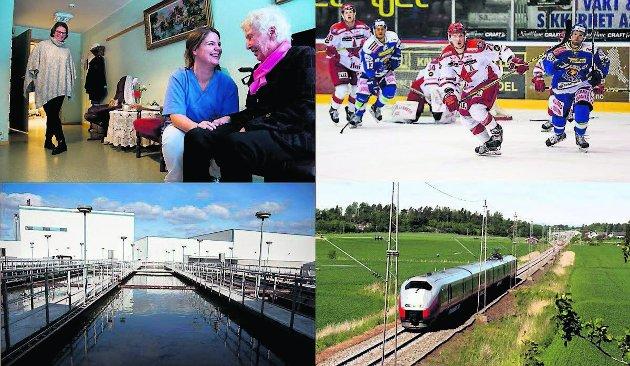 Roar Julsen mener Sarpsborg og Fredrikstad burde finne felles løsninger for et nytt, regionalt sykehjem, en tidsmessig hockeyarena, renseanlegg og jernbanetrasé. (Foto: Fredriksstad Blad, arkiv)
