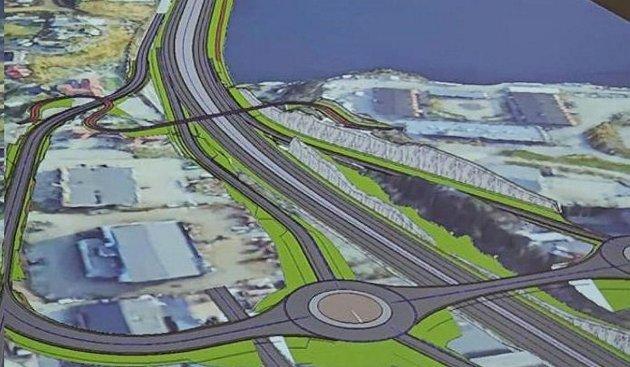 Broen over Bjørnafjorden og det nye veisystemet vil gi økt godstransport på vei!