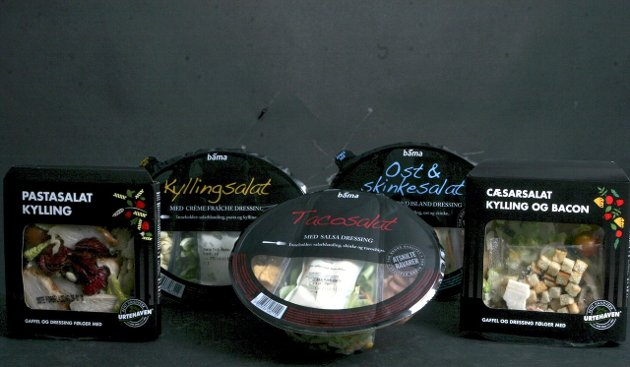 Salat er ikke lenger kun salat: Det finnes forskjellige typer ferdigsalater, også fra forskjellige leverandører. Men hvilken skal man egentlig velge?