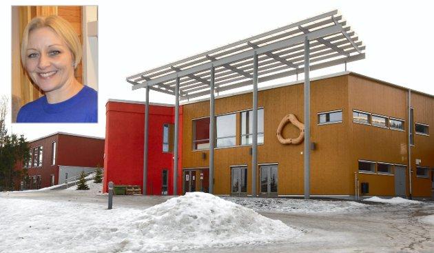 SVARER: Psykolog Vilde Wahlstrøm (innfelt) svarer i dette innlegget på innholdet i Glåmdalens leder om massasje i skolen.