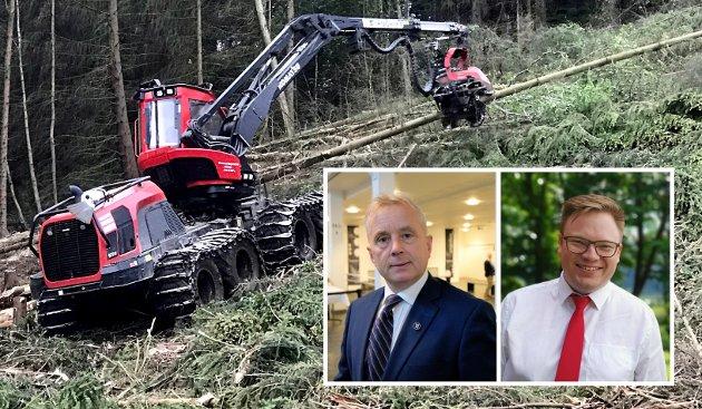 SKOGBRUK: Vi har laget en tiltaksplan som skal bringe skogbruket videre og utvikle skogen som en enda mer verdifull ressurs for framtida. Tiltaksplanen sendes i disse dager på høring, og vi ønsker oss gode innspill og råd for å videreutvikle skog- og trenæringen, skriver Knut Storberget og Even Aleksander Hagen.