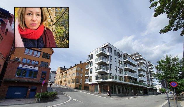 BYGGING: - Jeg er ikke så sikker på om urbanisering oppstår av blokkbebyggelse alene, skriver artikkelforfatteren